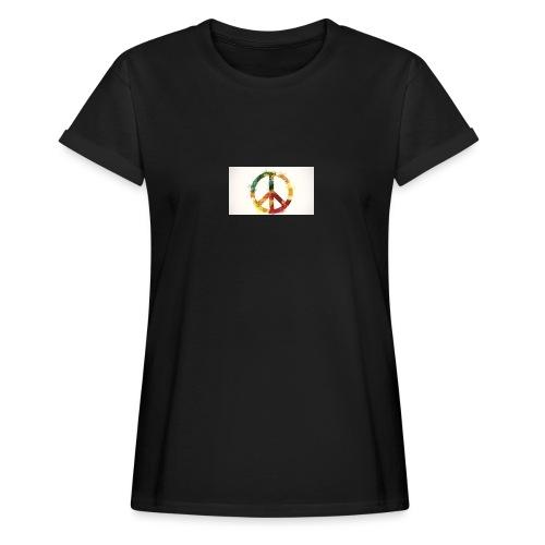peace mok - Vrouwen oversize T-shirt