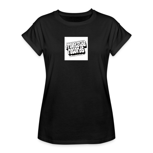 newfrontzidelogo - Dame oversize T-shirt