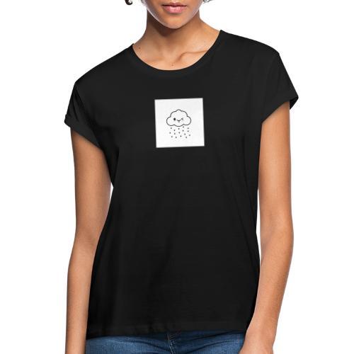 nuage coeur - T-shirt oversize Femme