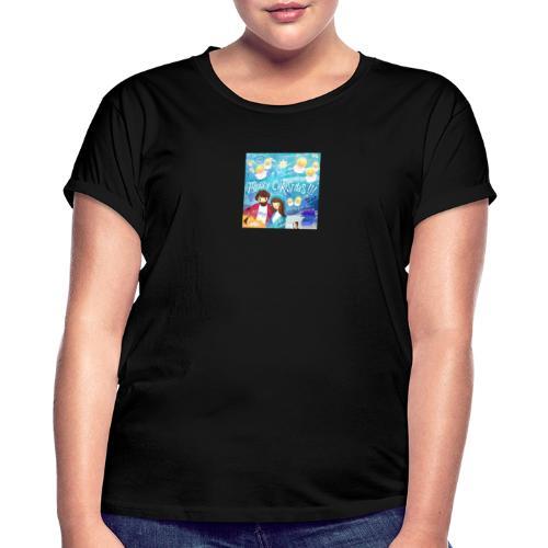 48A8B758 35D - Camiseta holgada de mujer