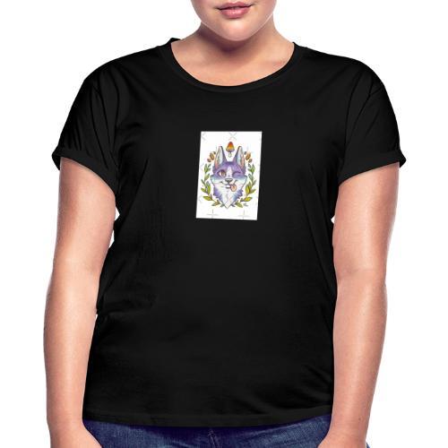 E8E4BD59 F38D - Camiseta holgada de mujer