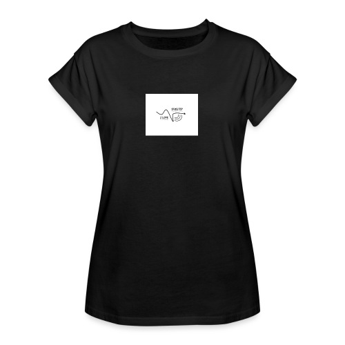 I_LOVE_DUBSTEP - Camiseta holgada de mujer
