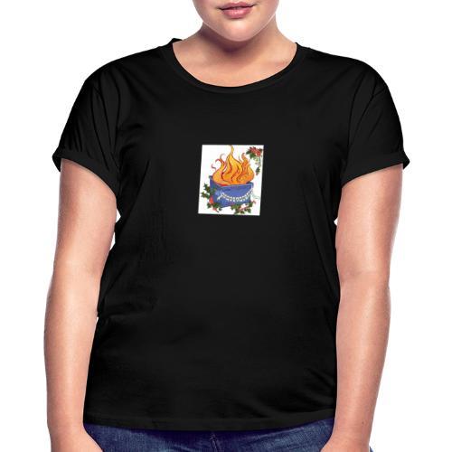 CFAD9F52 - Camiseta holgada de mujer