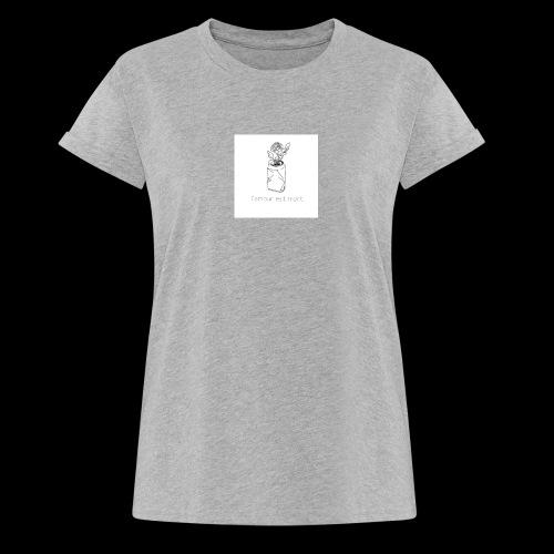 l'amour est mort - T-shirt oversize Femme