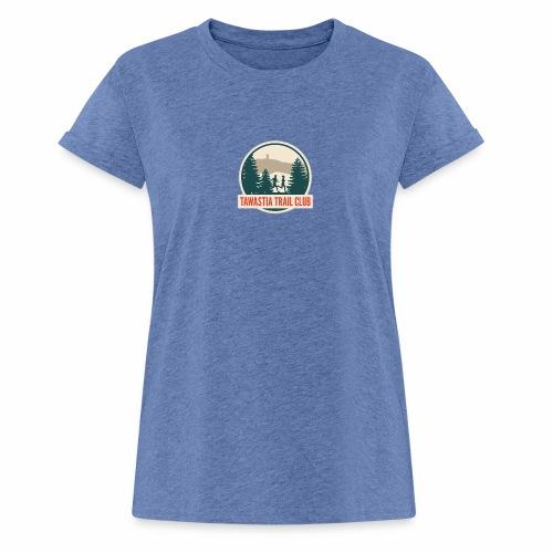 Tawastia Trail Logo - Naisten oversized-t-paita