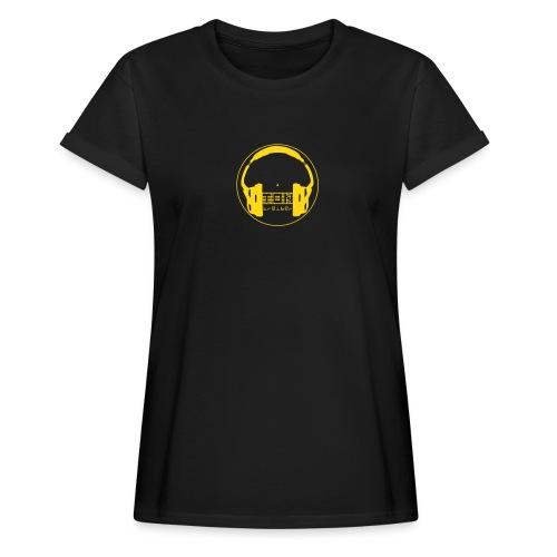 TonTreiber Logo - Frauen Oversize T-Shirt