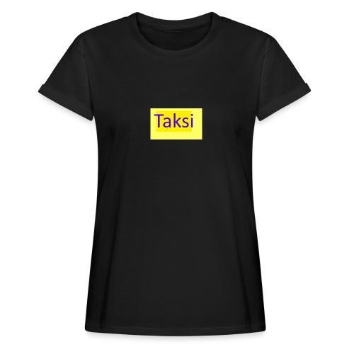 Taksi - Naisten oversized-t-paita