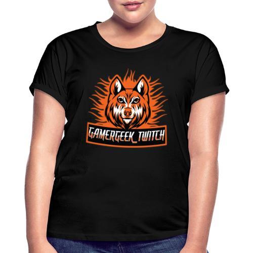 GamerGeek Logo XXXL - Frauen Oversize T-Shirt