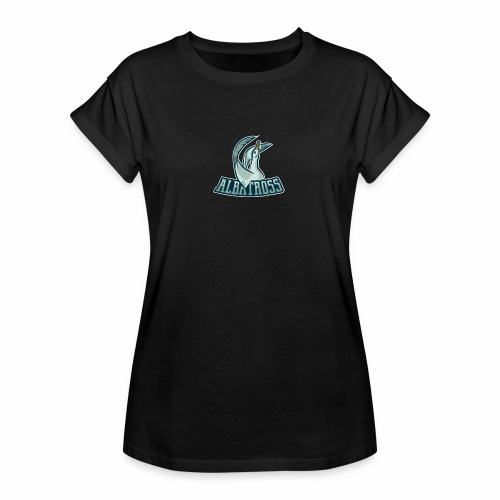 ag logo - Frauen Oversize T-Shirt