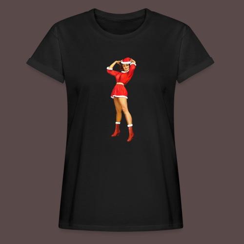 Vintage pin up girl - Happy Holidays! - Maglietta ampia da donna