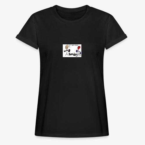 Let`s get ready to rumble! logo - Oversize T-skjorte for kvinner