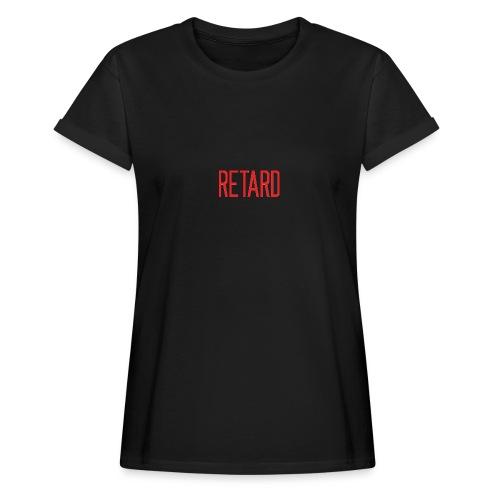 Retard Klær - Oversize T-skjorte for kvinner