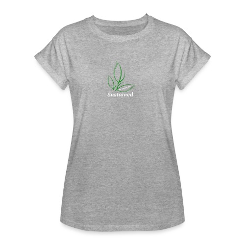 Sustained Sweatshirt Navy - Dame oversize T-shirt