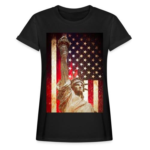 Lady Liberty - Dame oversize T-shirt