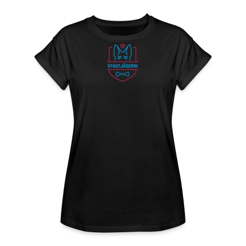 Stadtjägerin - Frauen Oversize T-Shirt