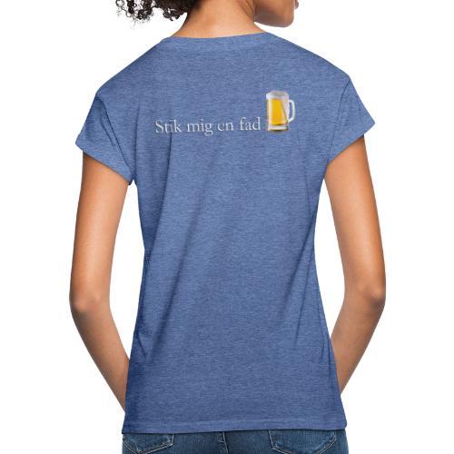 stik mig en fad shirt 1 - Dame oversize T-shirt