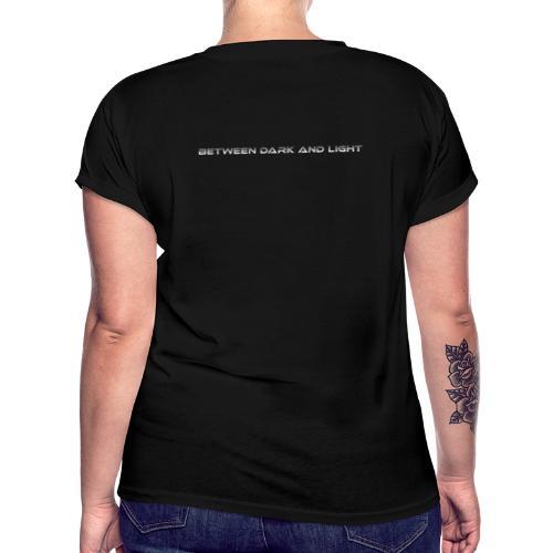 BetweenDarkAndLight Horizontal - Naisten oversized-t-paita