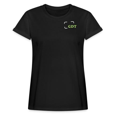 GDT-Slogan_DEU - Frauen Oversize T-Shirt