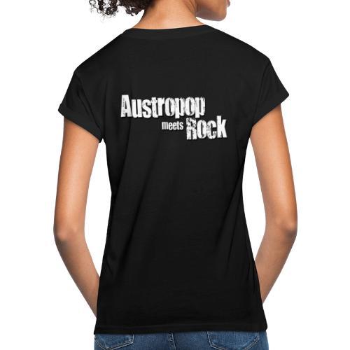 Austropop meets Rock classic back - Frauen Oversize T-Shirt