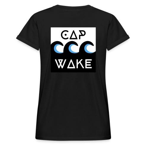 Logo_officiel assoc - T-shirt oversize Femme