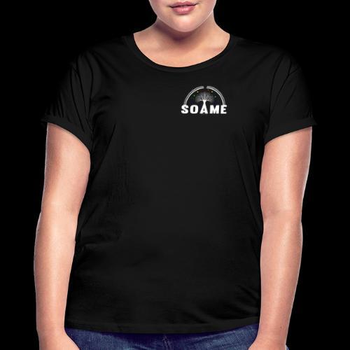 SOAME - Logo-500 - T-shirt oversize Femme