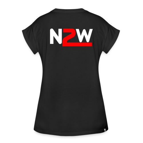 Logo Nico2Wheels Simple - T-shirt oversize Femme