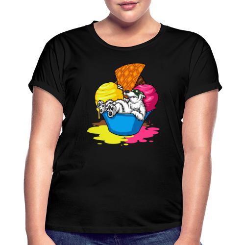 eisbär - Frauen Oversize T-Shirt
