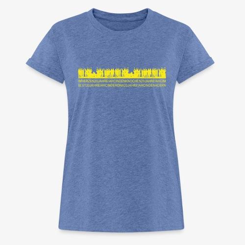 IAHC 20 Jahre, das Original! - Frauen Oversize T-Shirt