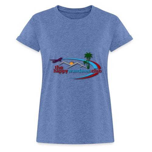 The Happy Wanderer Club - Women's Oversize T-Shirt
