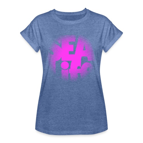 Sealife surfing tees, clothes and gifts FP24R01B - Naisten oversized-t-paita