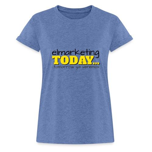 LOGOTIPO - Camiseta holgada de mujer