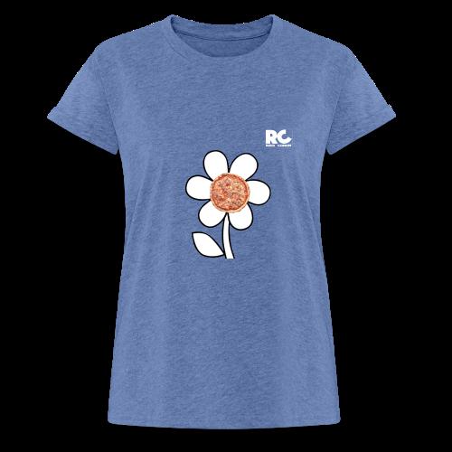 Pizzaflower Edition - Frauen Oversize T-Shirt
