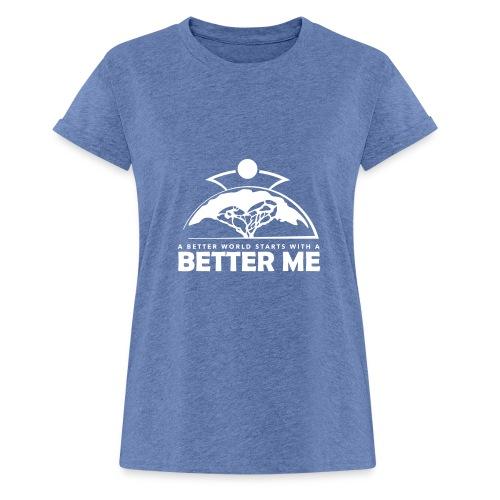Better Me - White - Women's Oversize T-Shirt