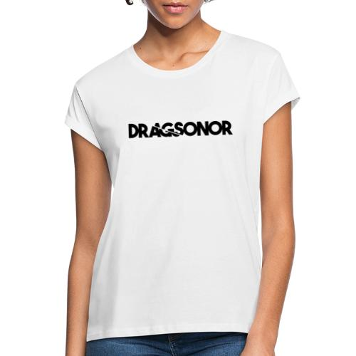 DRAGSONOR black - Women's Oversize T-Shirt