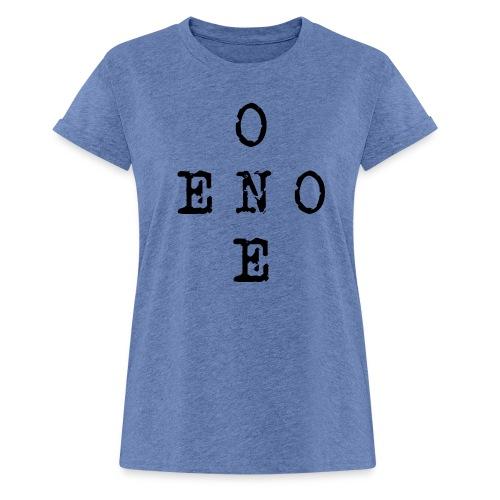 eno/one - Naisten oversized-t-paita