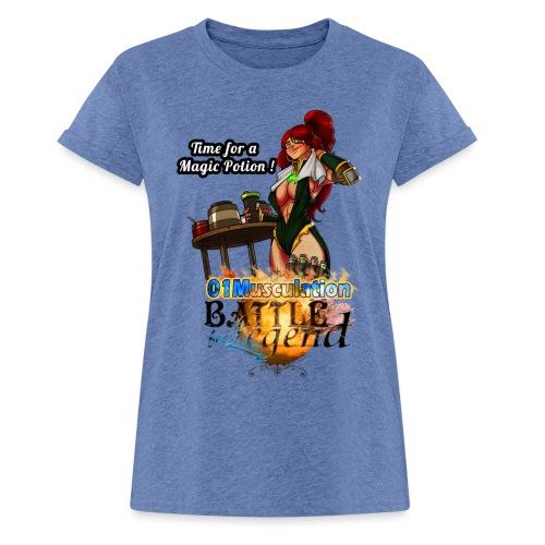 Mythrilisatrice- Battle for Legend X 01Musculation - T-shirt oversize Femme
