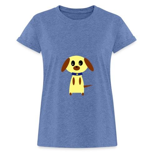 Dog Cute - Frauen Oversize T-Shirt