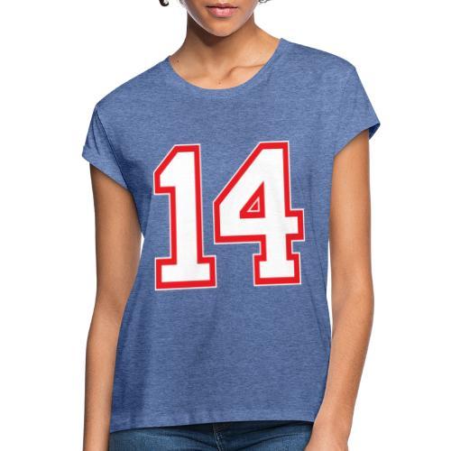 DANNIEB 14 - Maglietta ampia da donna