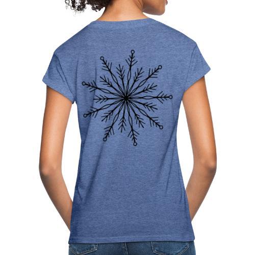 winterkind the mastermind snowflake - Frauen Oversize T-Shirt