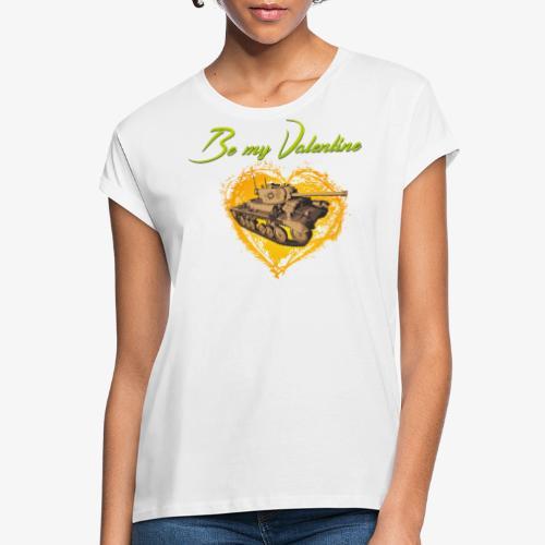 Glowing Valentine Heart - Frauen Oversize T-Shirt