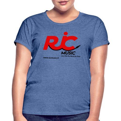 RJC Music avec site - T-shirt oversize Femme