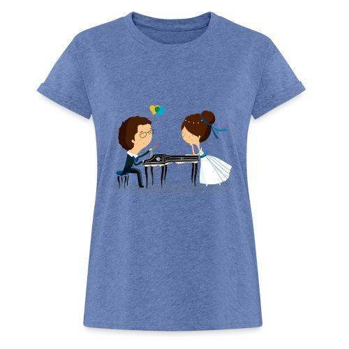Nuestra Boda - Camiseta holgada de mujer