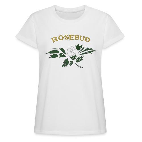 rosebud - Frauen Oversize T-Shirt
