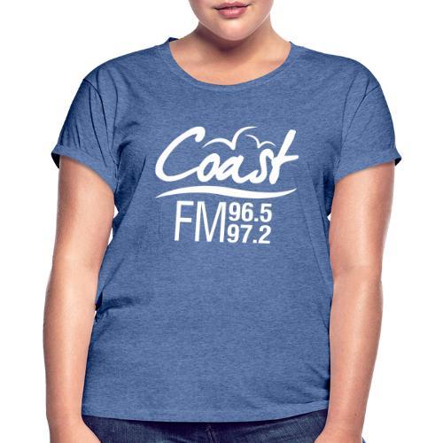Coast FM single colour print - Women's Oversize T-Shirt