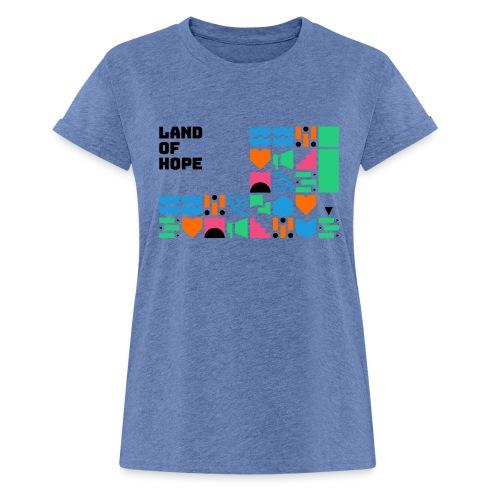 Land of Hope - Women's Oversize T-Shirt