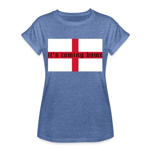 England 21.1 - Frauen Oversize T-Shirt