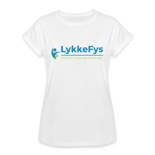 Lykkefys Esbjerg - Dame oversize T-shirt