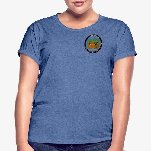 Zirbenvolk - Goes East! - Frauen Oversize T-Shirt