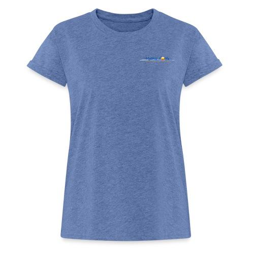 Logo klein - Frauen Oversize T-Shirt
