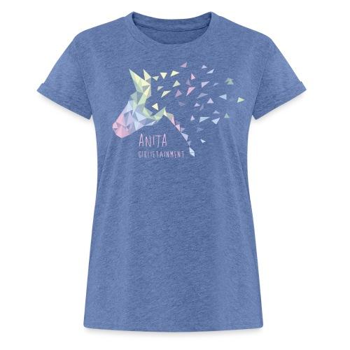 Anita Girlietainment past - Frauen Oversize T-Shirt